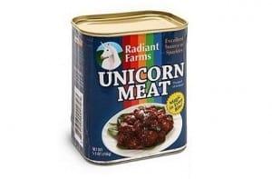 Carne de unicornio en lata