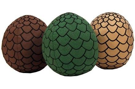 Set de 3 peluches Juego de Tronos huevos de dragón