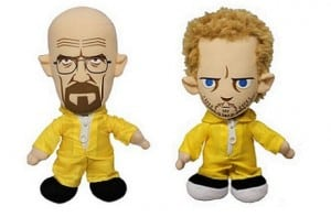 Peluches Walter y Jesse de Breaking Bad