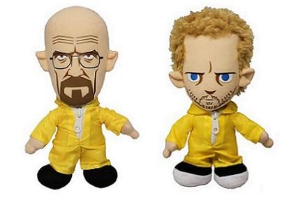 Peluches Walter y Jesse de Breaking Bad