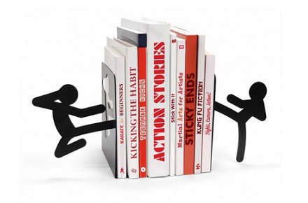 Soporte para libros Strickmen