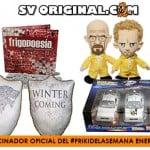 Primer #FrikiDeLaSemana del año con 4 sorteos patrocinado por SVOriginal durante enero