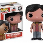 Cabezón Funko POP Raj Koothrappali de The Big Bang Theory
