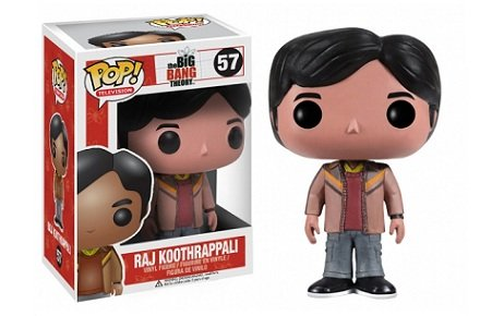 cabez n funko pop raj koothrappali de the big bang theory. Black Bedroom Furniture Sets. Home Design Ideas