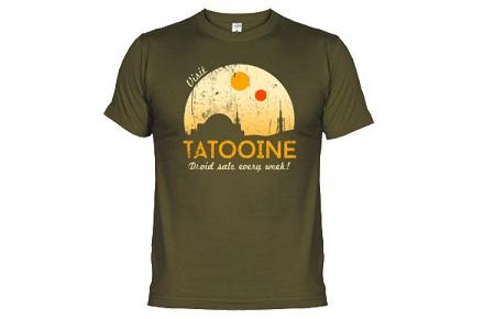 """Camiseta """"Visit Tatooine"""""""