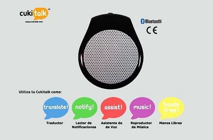 CukiTalk, el gadget traductor