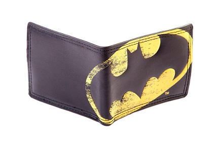 Monedero logo Batman vintage