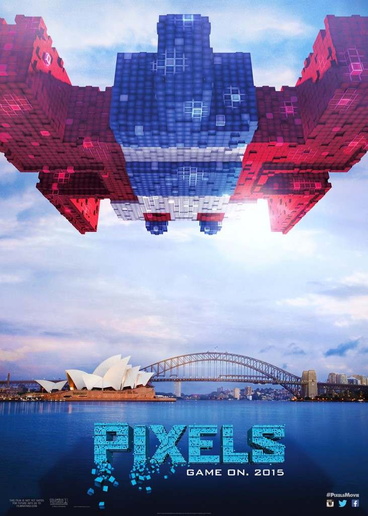 Regalos Frikis pelicula Pixels-Galaga-poster