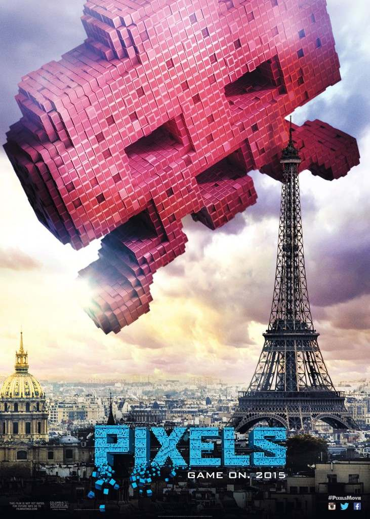 Regalos Frikis pelicula Pixels Space Invader