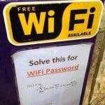 ¿Eres un friki en busca de wifi gratis? ¡Resuelve esto!