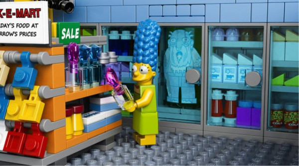 Marge badulake simpsons LEGO