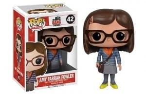 Cabezón Funko POP Amy de The Big Bang Theory