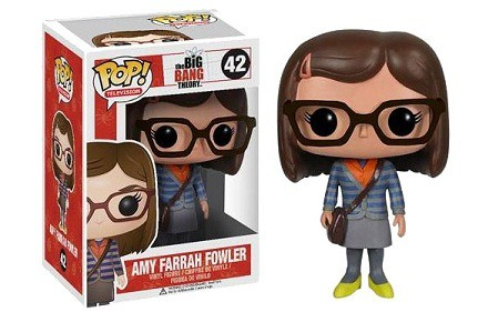 Cabezón Funko POP Amy de The Big Bang Theory