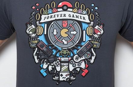 Camiseta Forever Gamer