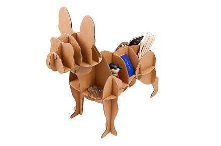 Perro de cartón Bulldog Francés