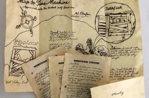 Mapas y cartas de Regreso al Futuro 2