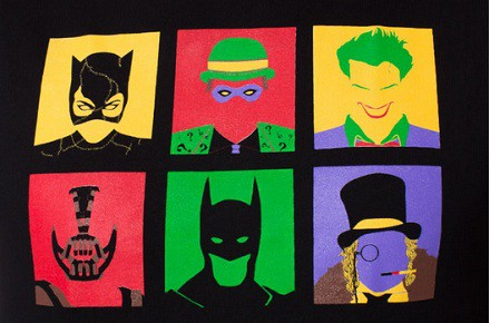 Camiseta Bat Pop Art