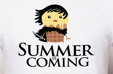 "Camiseta ""Summer is coming"""
