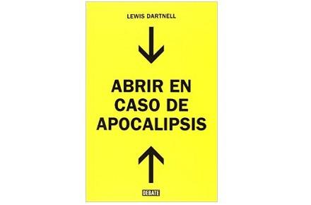"""Libro """"Abrir en caso de Apocalipsis"""""""