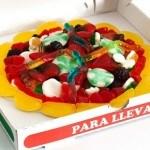 Pizza de gominolas