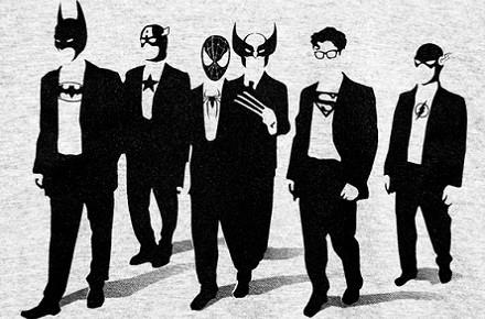 Camiseta Reservoir Heroes