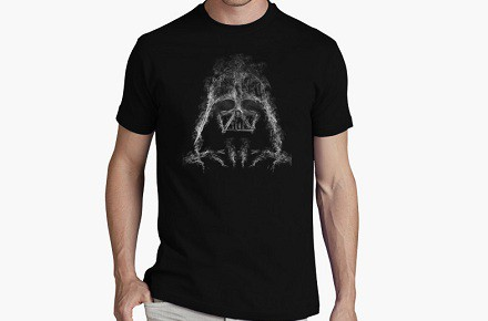 "Camiseta ""Darth Smoke"""