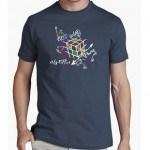 """Camiseta """"Esquema Rubik"""""""