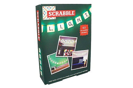 Letras luminosas Scrabble