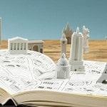Gomas de borrar con forma de monumentos