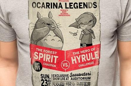 "Camiseta ""Ocarina Legends"""