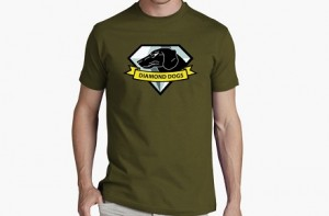 "Camiseta MGS5 ""Diamond Dogs"""