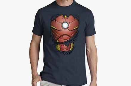 """Camiseta """"Armadura de millonario"""""""