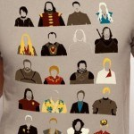 "Camiseta ""Game of Characters"""