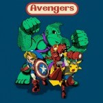 "Camiseta ""Nintendo Avengers"""