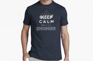 "Camiseta ""Keep calm, I'm an Engineer"""
