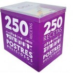 Colección de 250 recetas de repostería