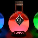 Lámpara poción mágica