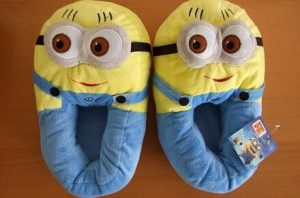 Zapatillas Minions de estar por casa
