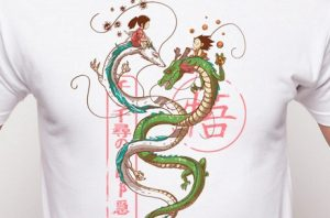 "Camiseta ""Danza de dragones"""