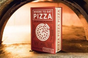 "Libro ""Where to eat pizza"""