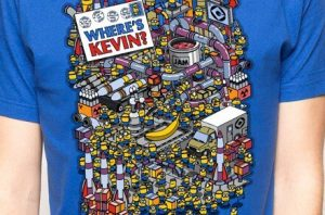 "Camiseta ""Where's Kevin?"""