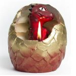 Vela huevo de dragón