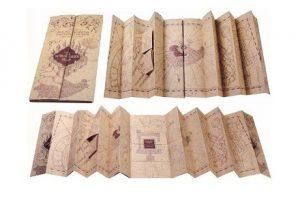Mapa del Merodeador de Harry Potter