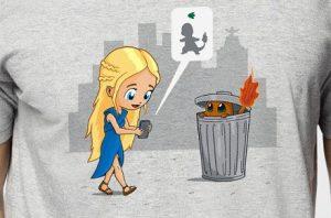 """Camiseta """"Capturando el fuego"""""""