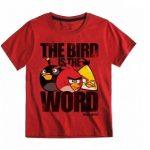 Camiseta Angry Birds 'The Bird is the World'