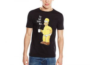 "Camiseta Homer ""The last perfect man"""