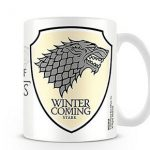 "Taza de Juego de tronos, Casa Stark: ""Winter is coming"""
