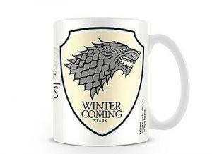 Taza Juego de Tronos Casa Stark