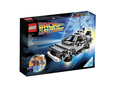 Delorean Regreso al Futuro LEGO