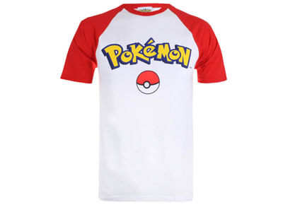 Camiseta friki de Pokemon